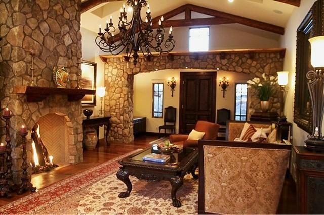 sedona custom home european meets southwest lodge living