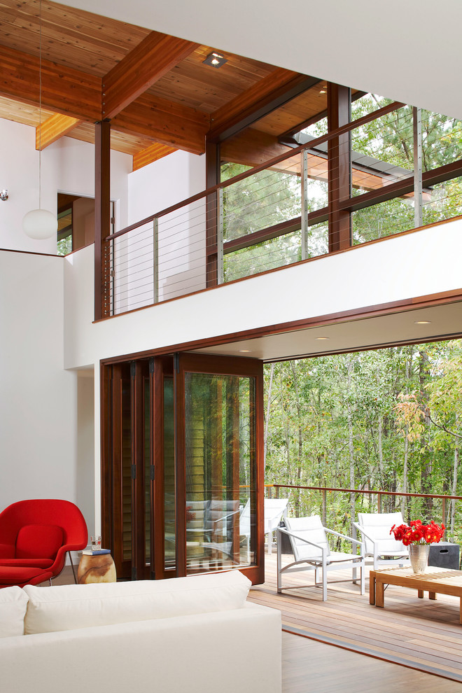 Serenbe Lane Contemporary Living Room Atlanta By