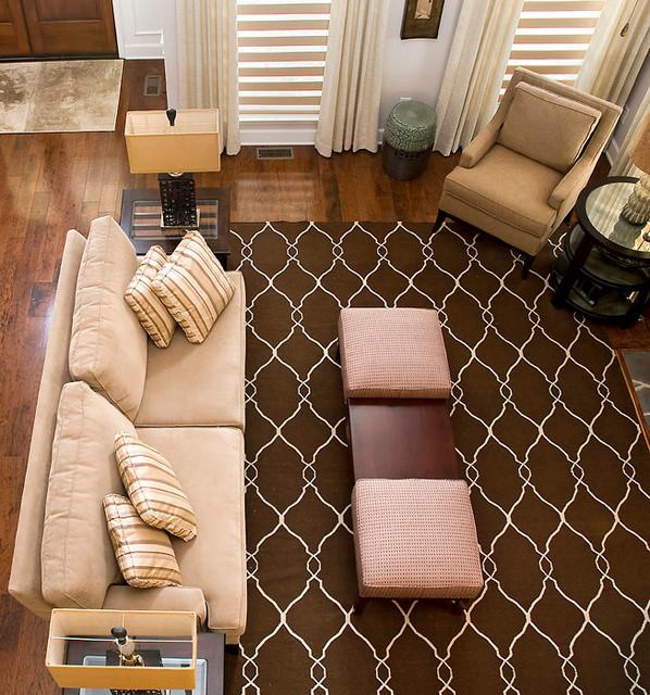 Serene Adult Retreat traditional living room