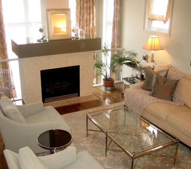 Serene living room contemporary living room calgary for Serene living room ideas
