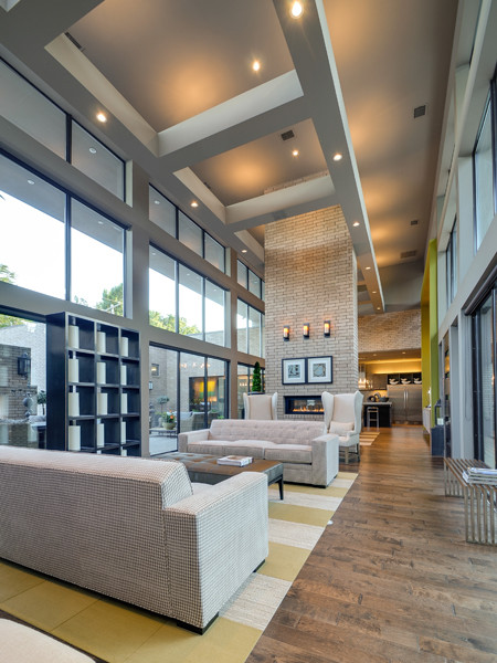 Serenity - The Woodward Project modern-living-room