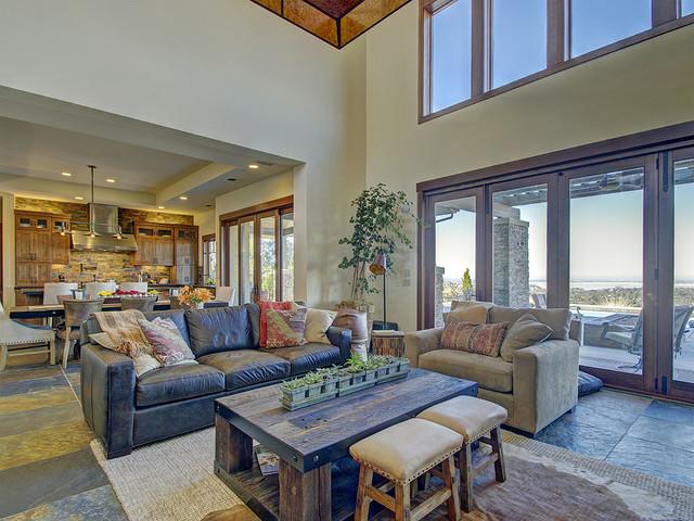 Serrano Lot #104-H4 craftsman-living-room