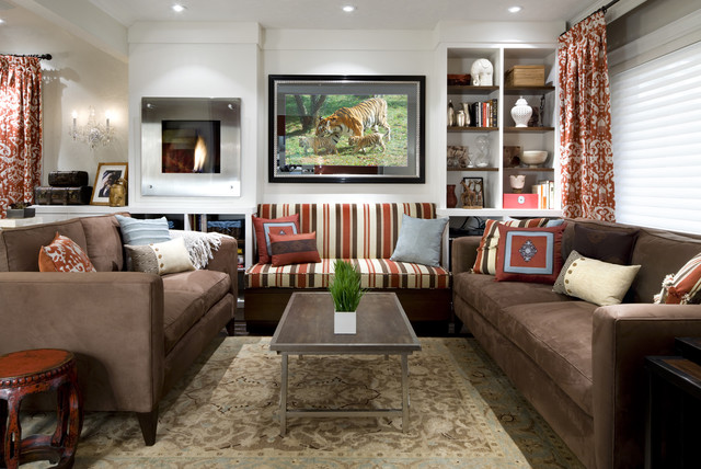 Fabulously Functional Living Room (Design By Candice Olson)