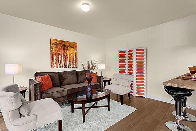 Seward Park Home modern-living-room