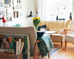 Hildas House eclectic living room