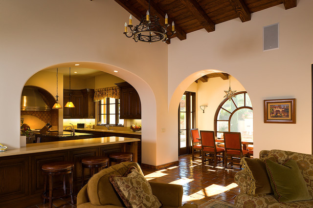 Shady Canyon 7 mediterranean-living-room