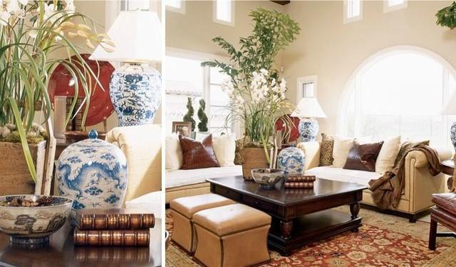 Shady canyon living-room