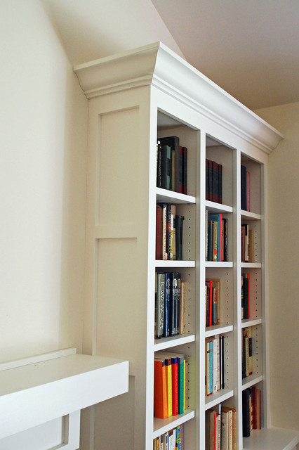 Shaker Style Bookcases