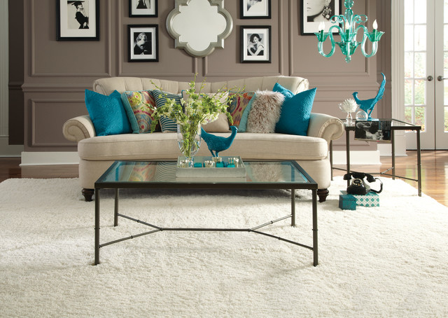 Shaw Flooring Trends contemporary-living-room