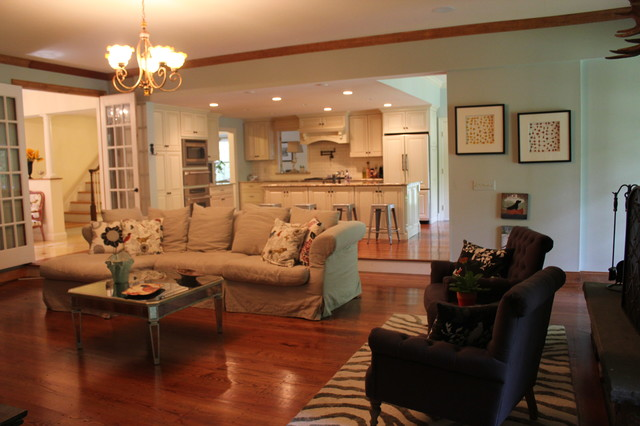 Shawna Feeley Interiors eclectic living room