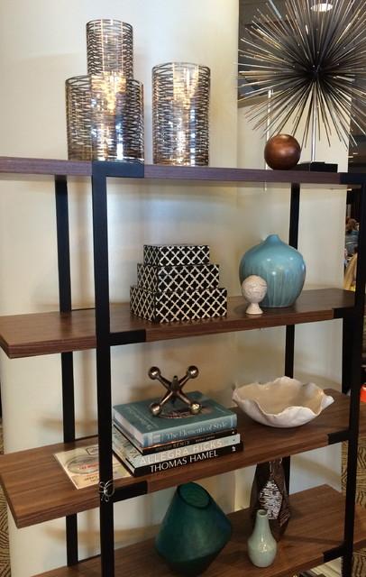 Shelf Accessories Beach Style Living Room