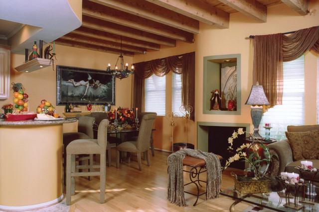 Sherman Oaks Loft eclectic-living-room