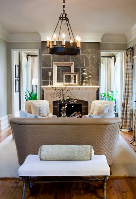 Sherry hart traditional living room for Living room atlanta