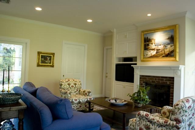 Sherwood Living Room traditional-living-room