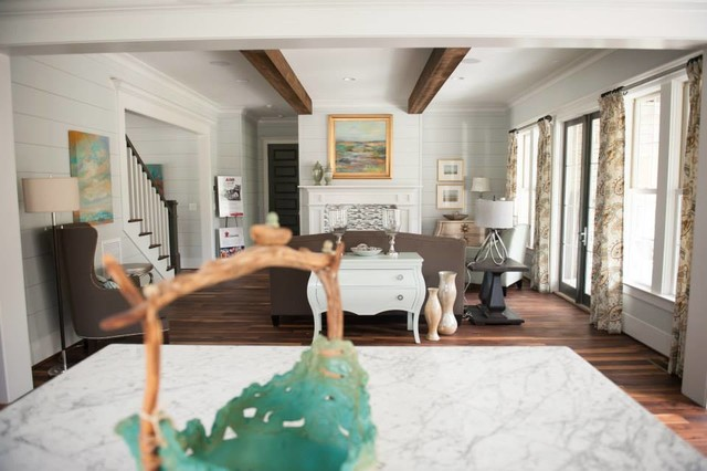 Shook Hill Traditional Living Room Raleigh By Tab