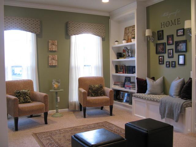 Shoshana Gosselin Contemporary Living Room