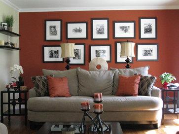 Shoshana contemporary living room