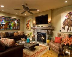 Showcase 2011 - Artist's Retreat eclectic-living-room