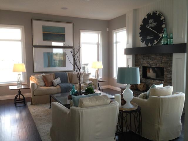 Showhome contemporary-living-room