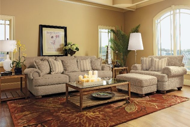 Showroom Traditional Living Room Other By Barrons