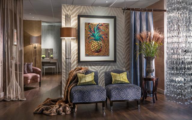 Showroom contemporary-living-room