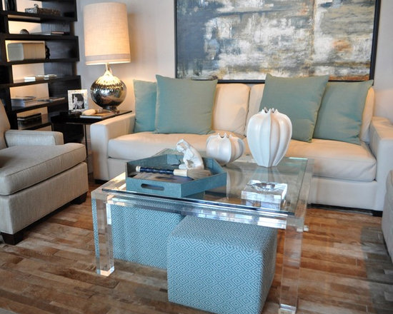 Showroom Pieces - Acrylic Coffee Table now on our Showroom Floor.