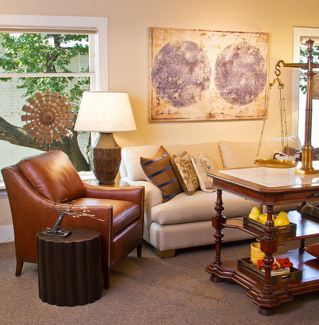 Showroom Staging Traditional Living Room By Madeen