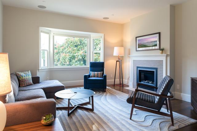 Shrader Residence contemporary-living-room