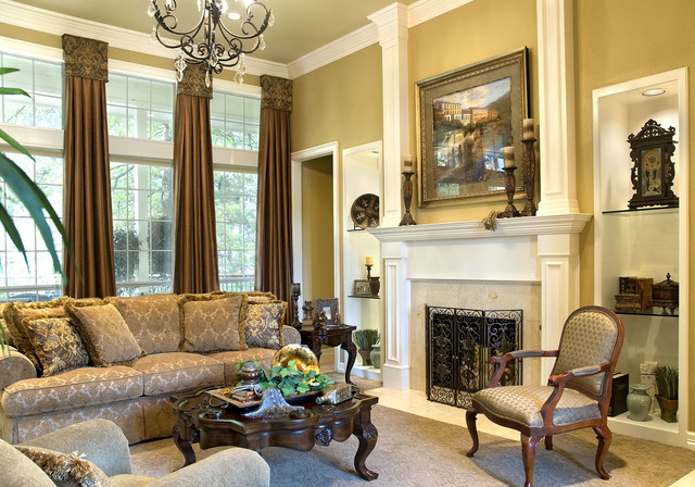 siddons design team mediterranean living room dallas
