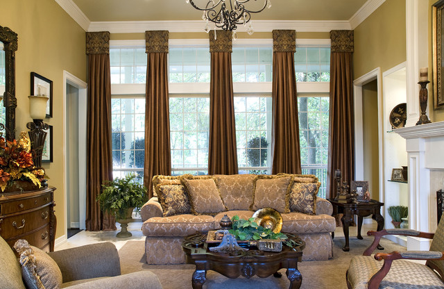 mediterranean living room by Siddons Design Team, Decorating Den Interiors