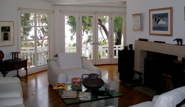 Siegel Residence eclectic-living-room