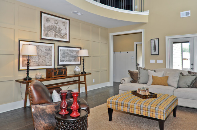 Signature Homes Keeping Room at Chace Lake living-room