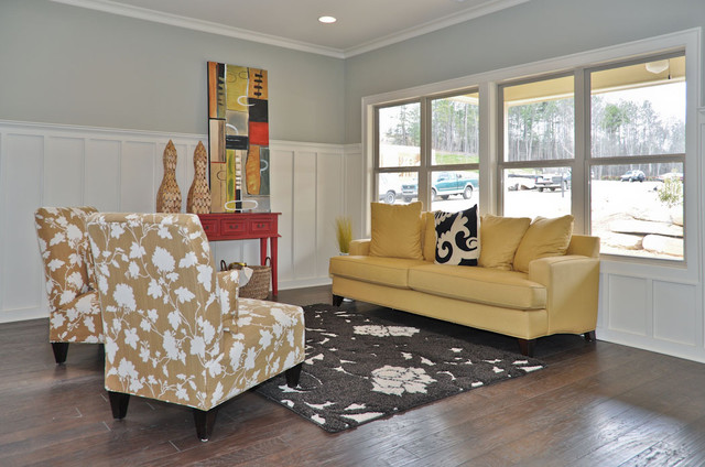 Signature Homes Keeping Room at James Hill in Ross Bridge living-room