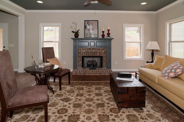 Signature Homes Living Room at James Hill in Ross Bridge living-room