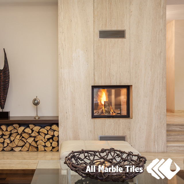 Silver travertine wall floor tiles and mosaics for 12x15 living room