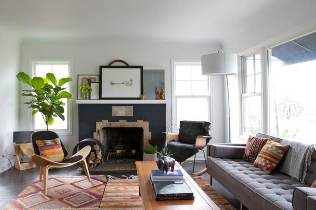 Silverlake Vintage Modern - Midcentury - Living Room - Los ...