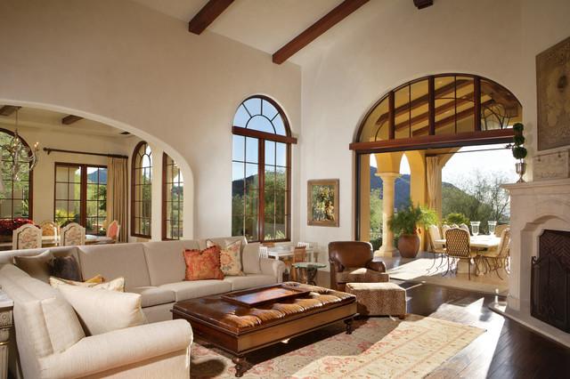breathtaking mediterranean style living room | Silverleaf Mediterranean - Mediterranean - Living Room ...