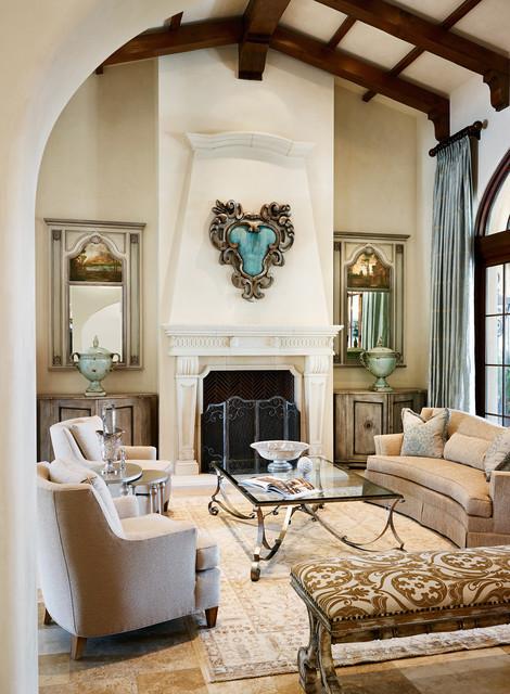 Leaf Print Cushions Living Room Interior