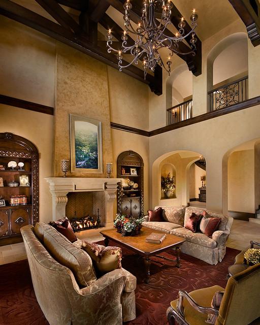 Silverleaf, Scottsdale mediterranean-living-room