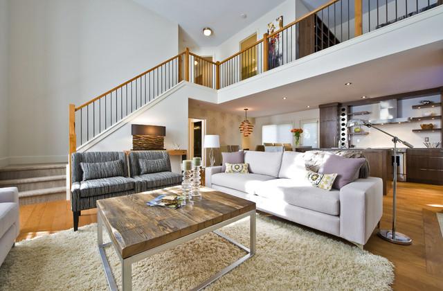SILVERTIP RIDGE contemporary-living-room