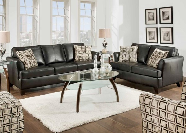 Simmons Upholstery Urban Full Sleeper Sofa And Loveseat