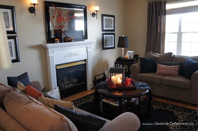 Tis Autumn Living Room Fall Decor Ideas: Simple Autumn Decor