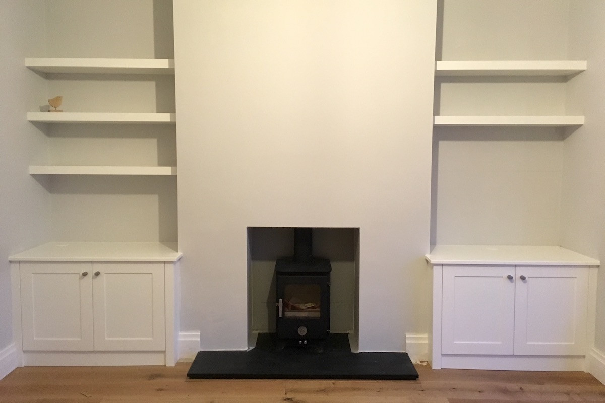Simple Modern Alcoves Installation