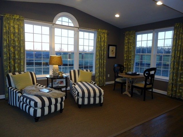 Simple Top Treatments By Delmarva Blinds Modern Living