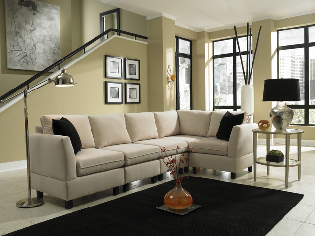 Simplicity sofas quality small scale and rta sofas for Quality small sectional sofa