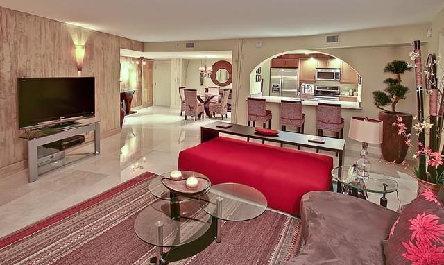 Singer Island living-room