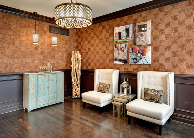 Sitting Area Modern Living Room