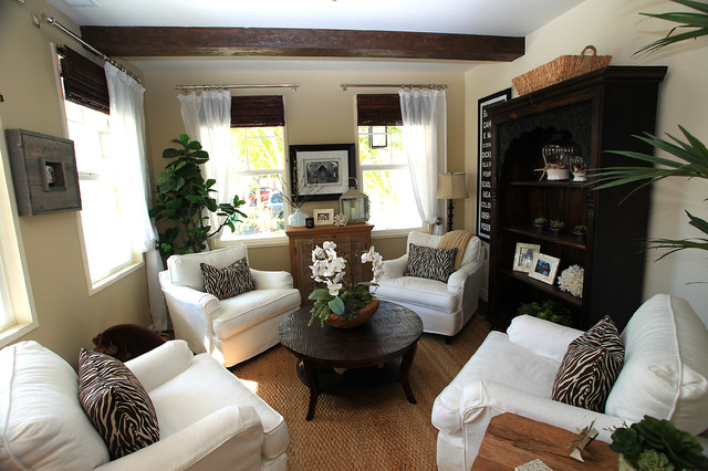 Sitting Room eclectic-living-room