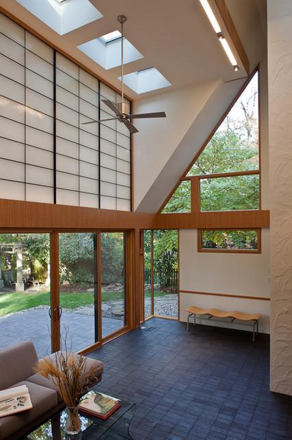 sixties solarium modern-living-room