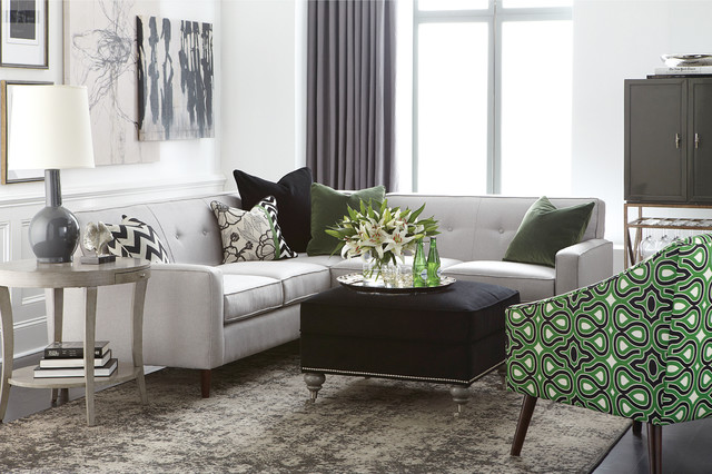 skylar l shaped sectional by bassett furniture